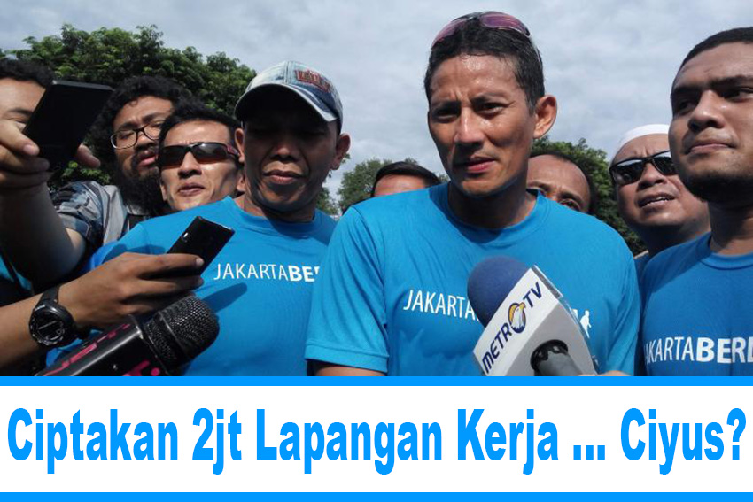 Program Kerja Sandiaga Uno